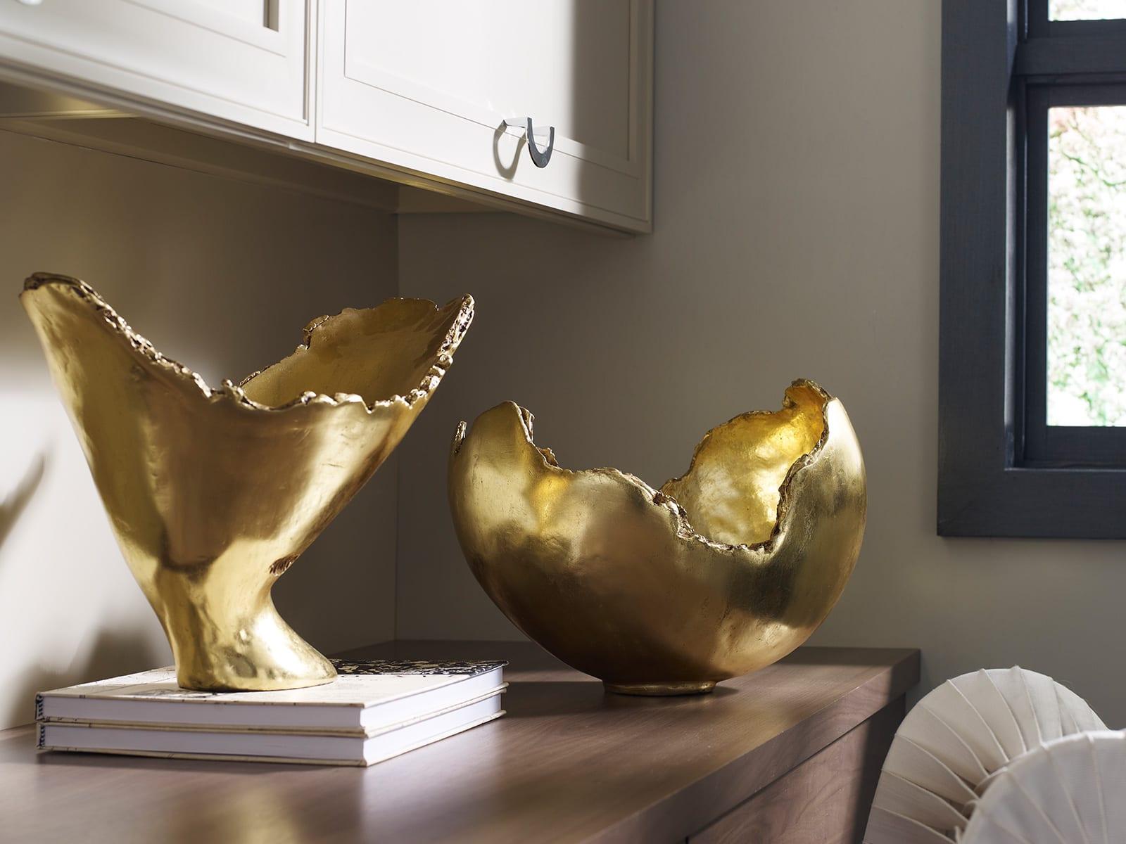 Burled Bowls Gold